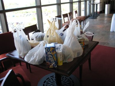 VT Engage food collection